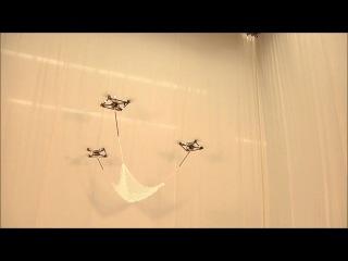 Уникальные возможности летающих роботов